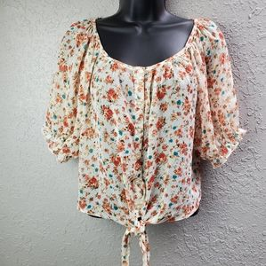 Poetry Floral Blouse Sz. S